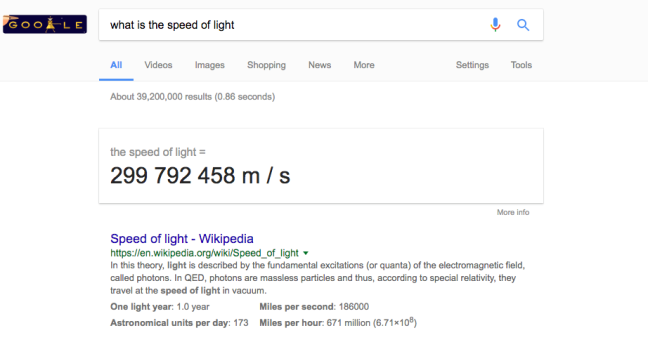 Google Feature Snippet